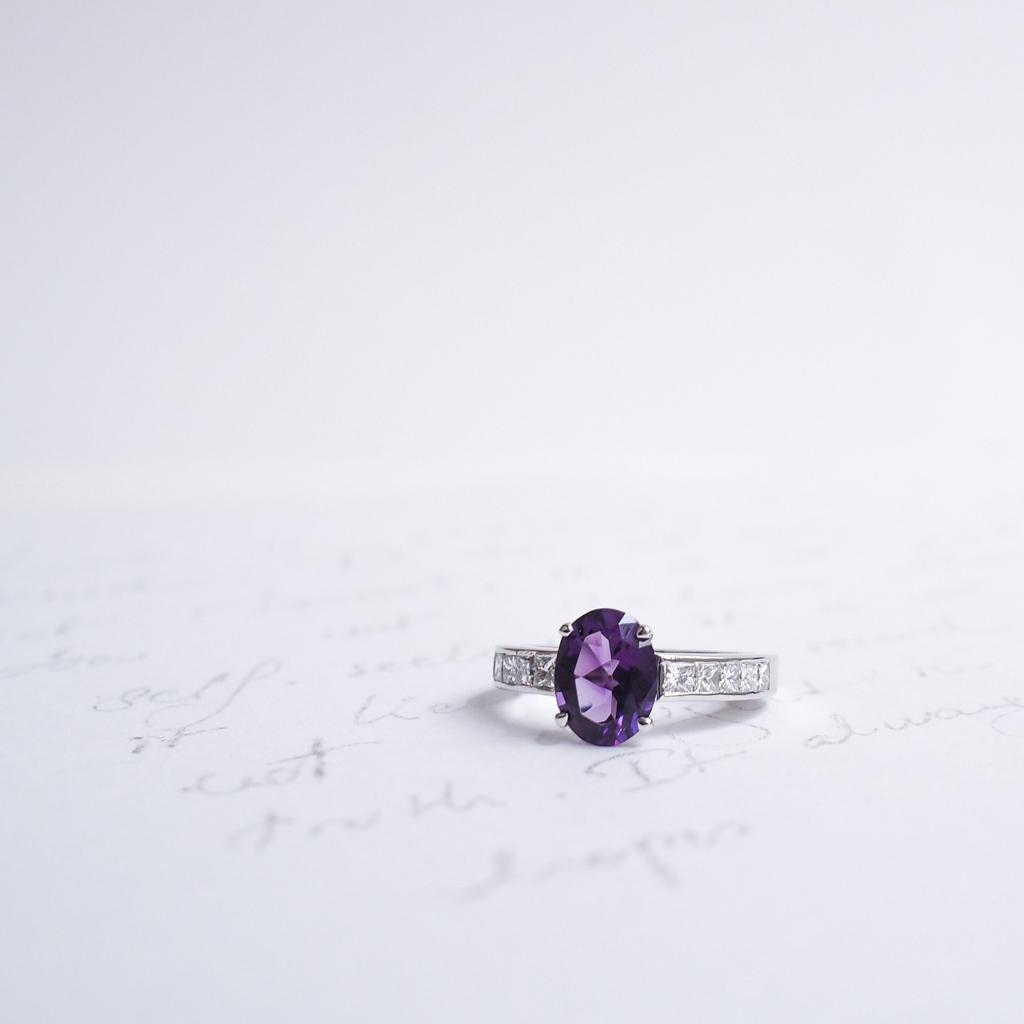 Bague de fiancailles Gemmyo collection Madame 2016 diamant tanzanite l La Fiancee du Panda blog mariage-4222505