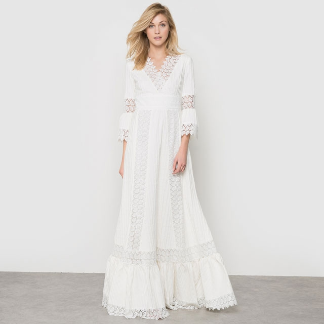 Robe de mariee Delphine Manivet x La Redoute 2016 l La Fiancee du Panda blog mariage