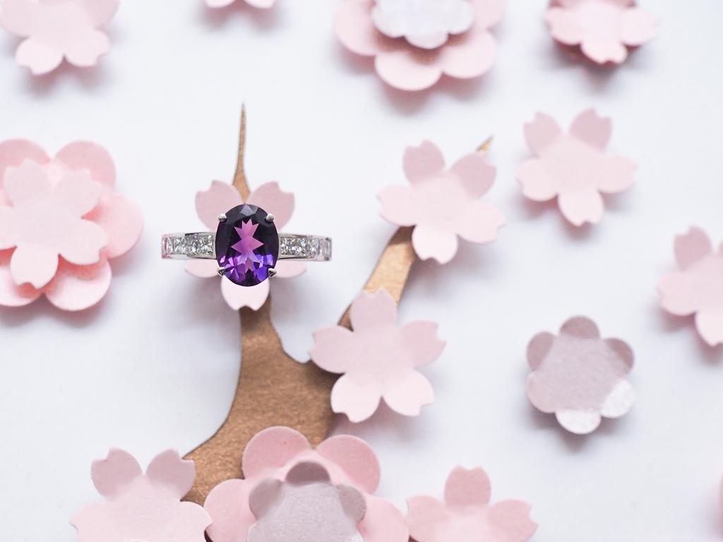 Una Bague de fiancailles Gemmyo collection Madame 2016 diamant tanzanite l La Fiancee du Panda blog mariage-4222464