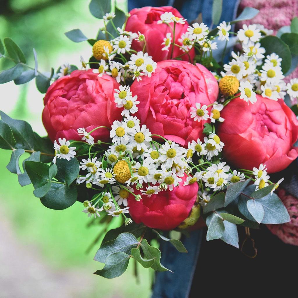 Bouquet de fleurs Bergamotte avis fete des meres l La Fiancee du Panda blog mariage