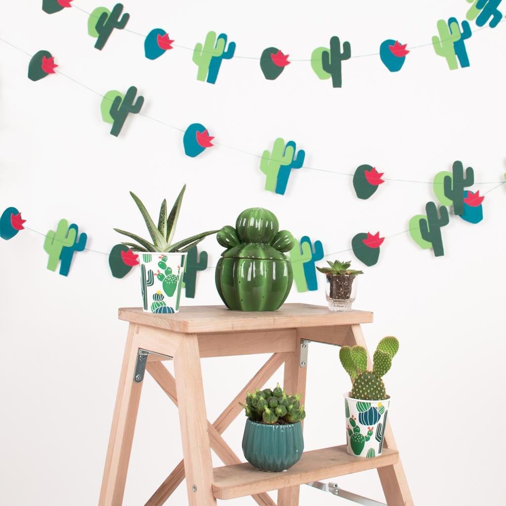 Inspiration deco pour un EVJF My Little Day cactus l La Fiancee du Panda blog mariage