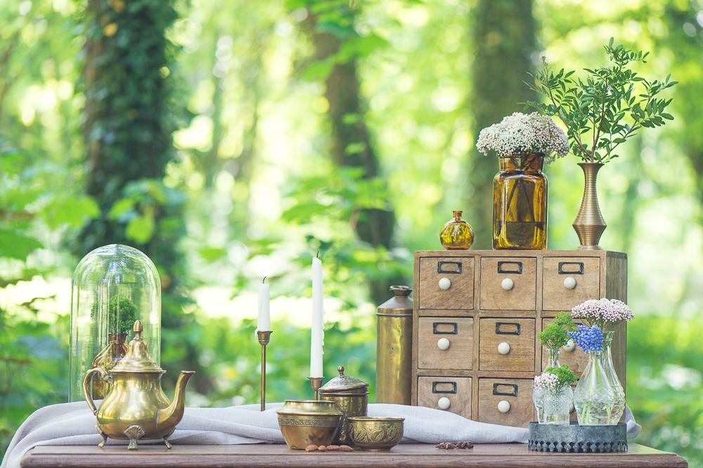 Inspiration deco mariage dans la foret La Tour de Labergement l Wedding planner Tandem et Coton l photographe Sonia Blanc l La Fiancee du Panda blog mariage--96