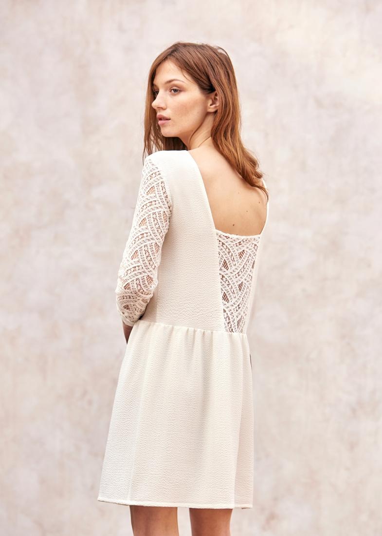 Une jolie petite robe de mariage civil s zane coup de coeur for Robes de mariage de juin