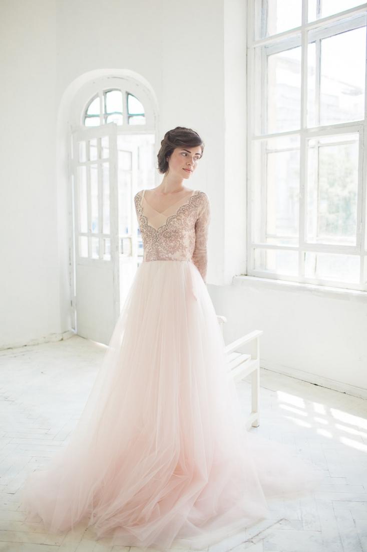 Robe de mariee nude dentelle Etsy Carousel Fashion l La Fiancee du Panda blog mariage