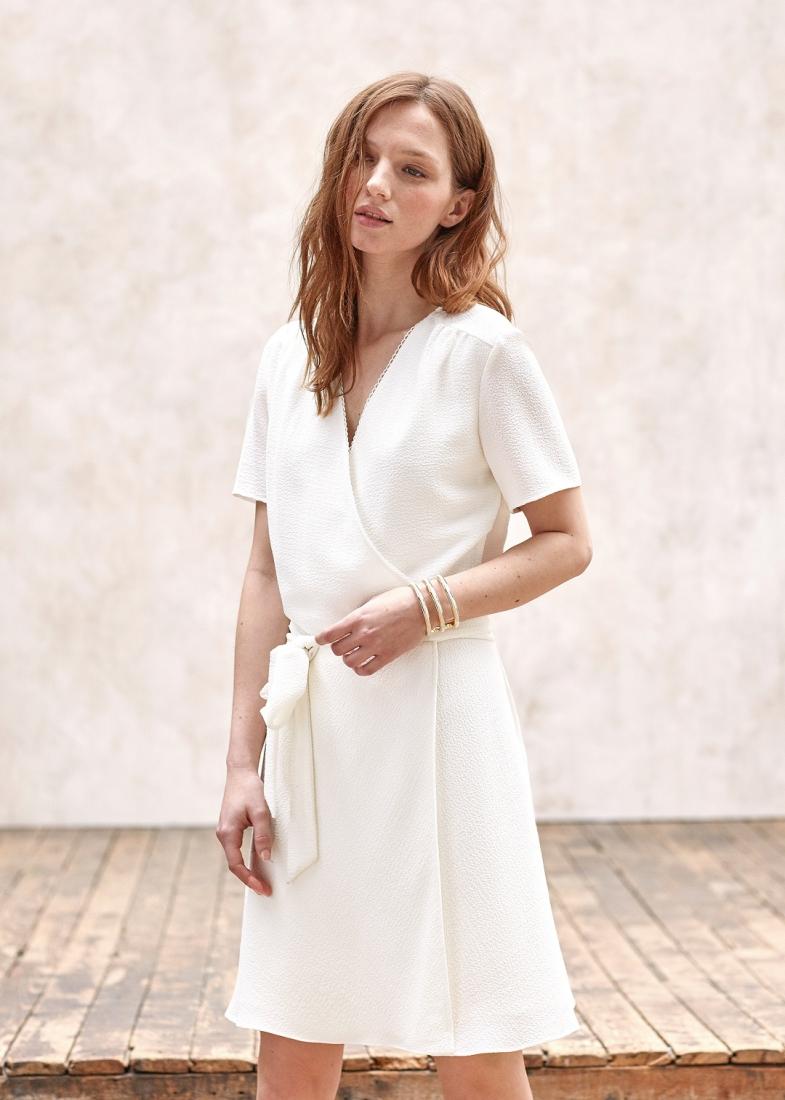 Une jolie petite robe de mariage civil s zane coup de coeur for Petites robes pour les mariages