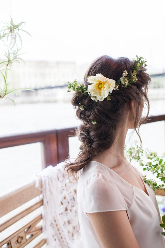 Mariage sur une peniche a Paris deco sur le theme du voyage l Photographe Marine Blanchard l La Fiancee du Panda blog mariage-57