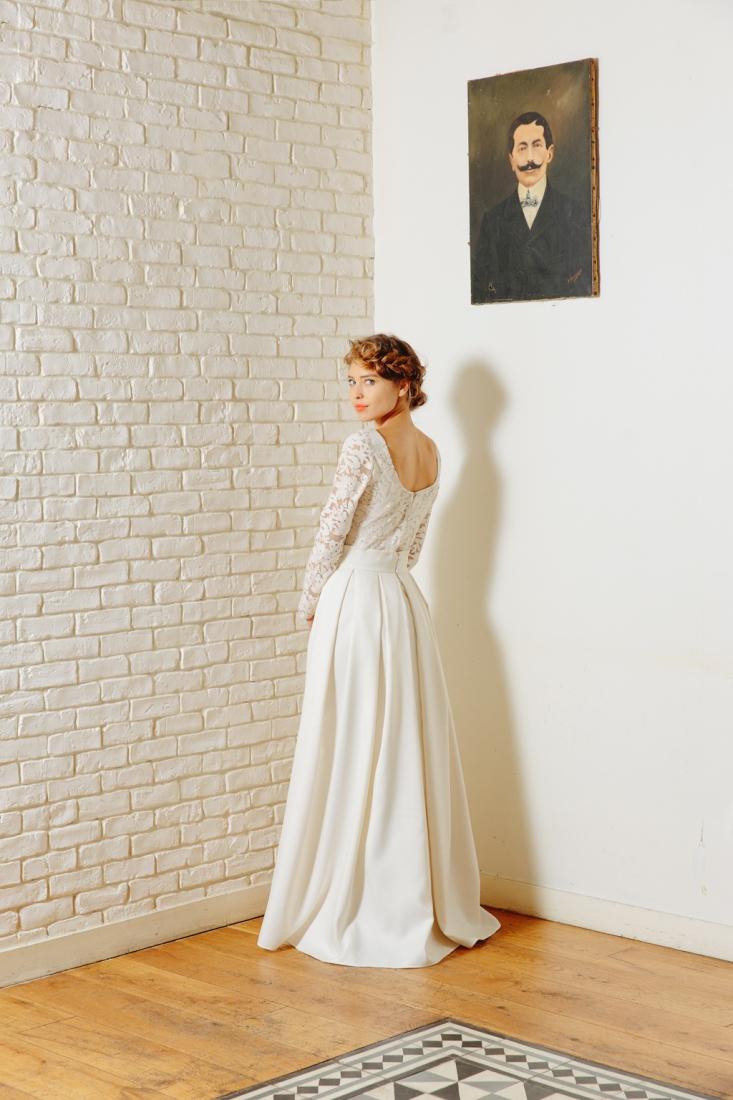 Robe de mariee Sidonie Floret Paris creatrice sur mesure l La Fiancee du Panda blog mariage -7