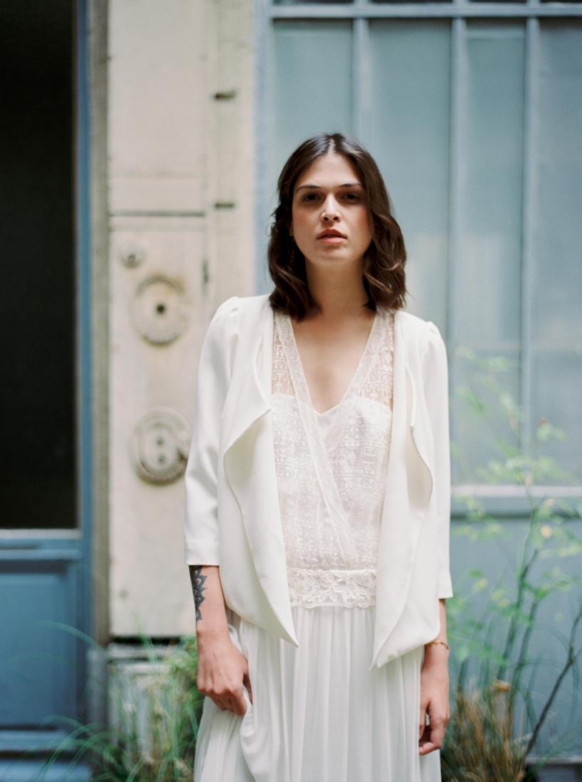 Robe de mariee sur mesure Paris Stephanie Wolff creatrice collection 2017 l Credit photo l'Artisan Photographe l La Fiancee du Panda blog mariage--22