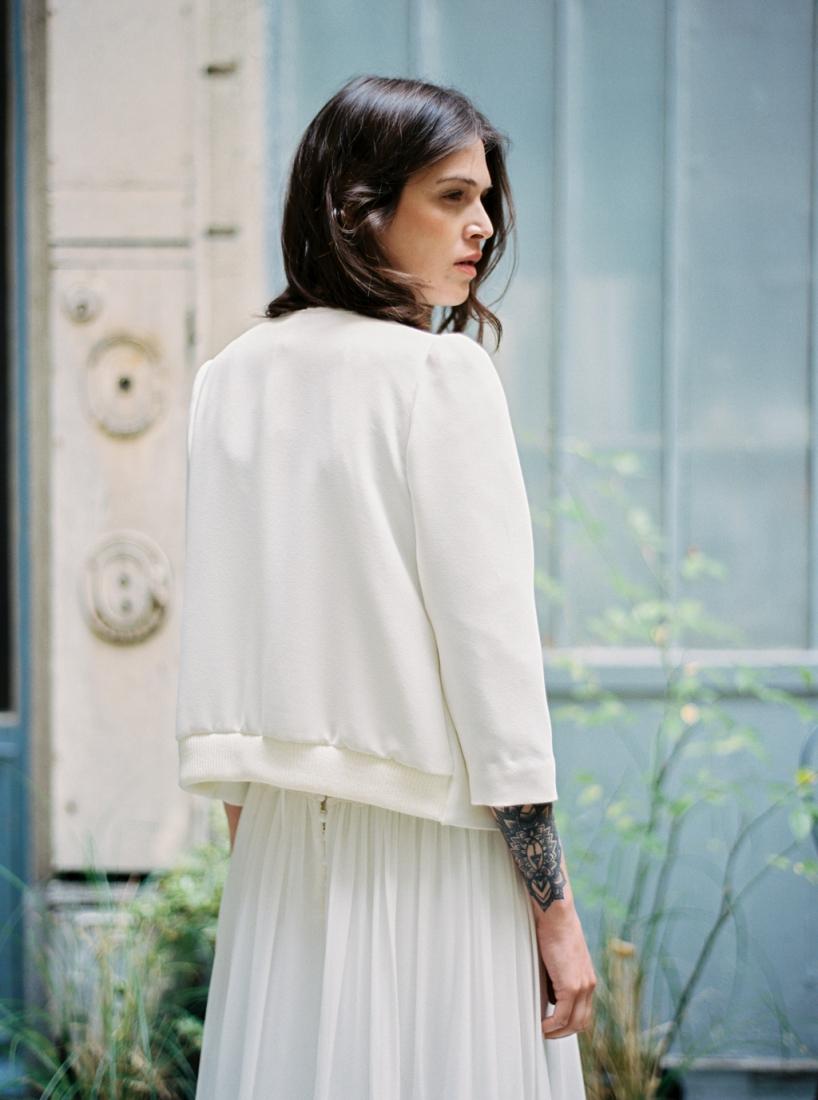 Robe de mariee sur mesure Paris Stephanie Wolff creatrice collection 2017 l Credit photo l'Artisan Photographe l La Fiancee du Panda blog mariage--25