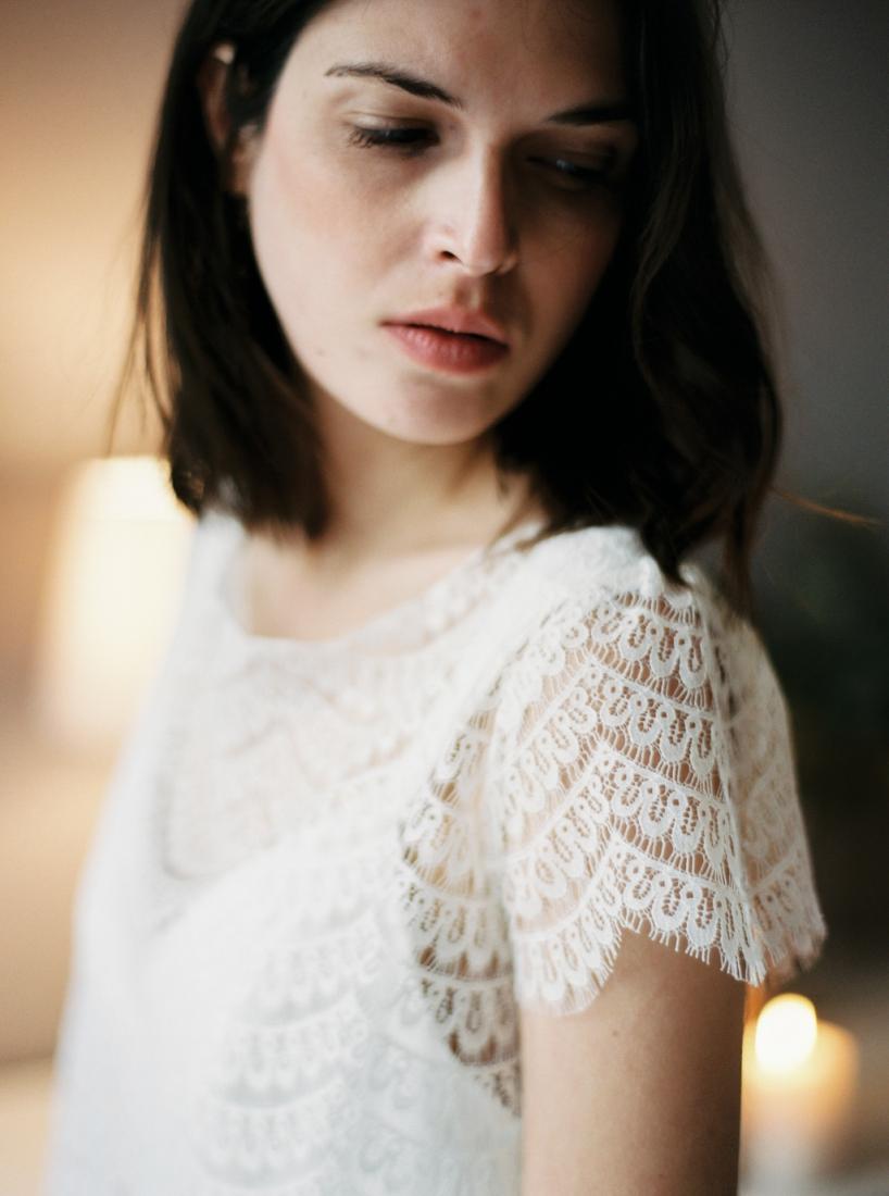 Robe de mariee sur mesure Paris Stephanie Wolff creatrice collection 2017 l Credit photo l'Artisan Photographe l La Fiancee du Panda blog mariage--34