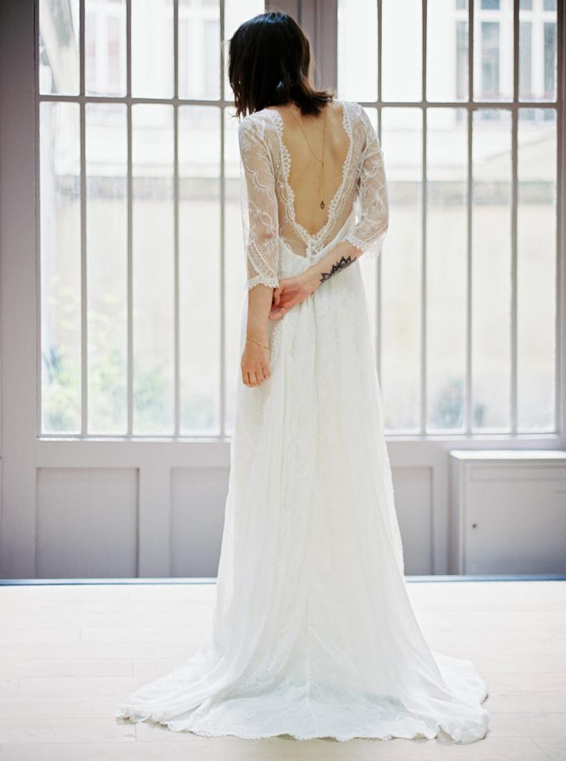 Robe de mariee sur mesure Paris Stephanie Wolff creatrice collection 2017 l Credit photo l'Artisan Photographe l La Fiancee du Panda blog mariage--89