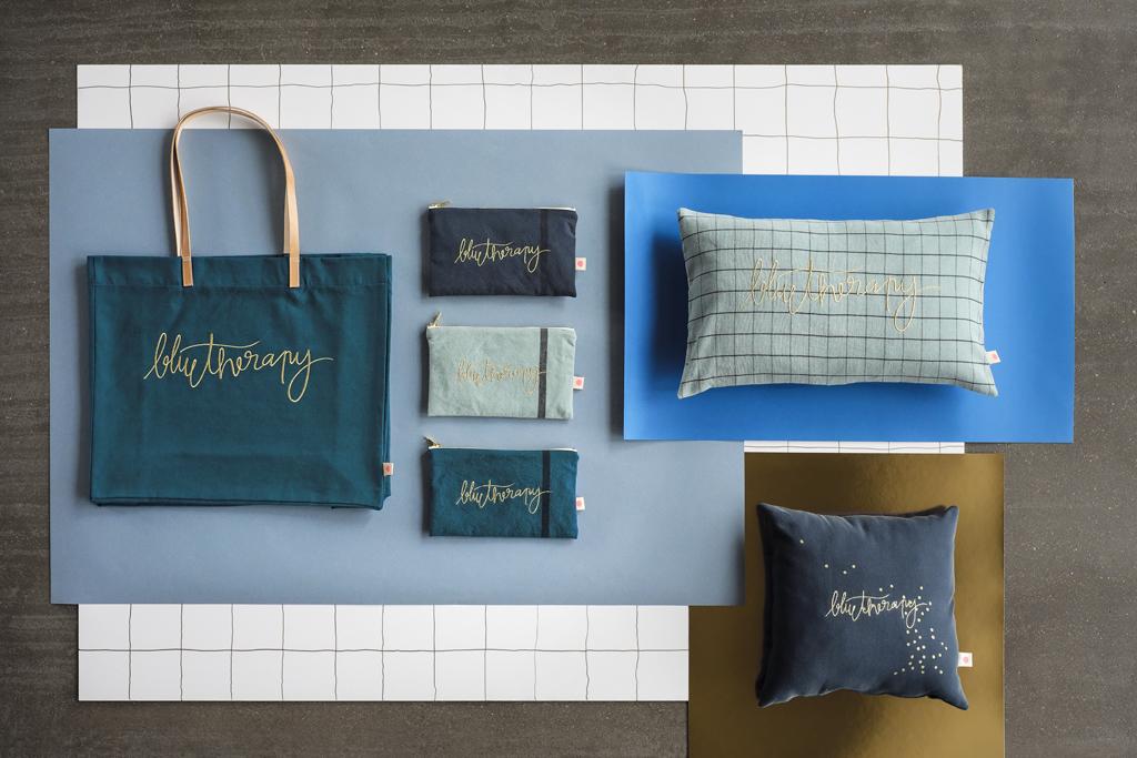 Blue Therapy La Cerise sur le Gateau x Mamie Boude collab l La Fiancee du Panda blog deco et lifestyle