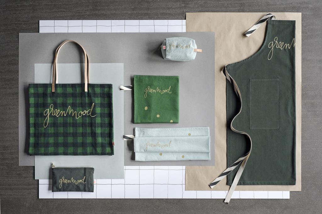 Green Mood tablier lin vert La Cerise sur le Gateau x Mamie Boude collab l La Fiancee du Panda blog deco et lifestyle