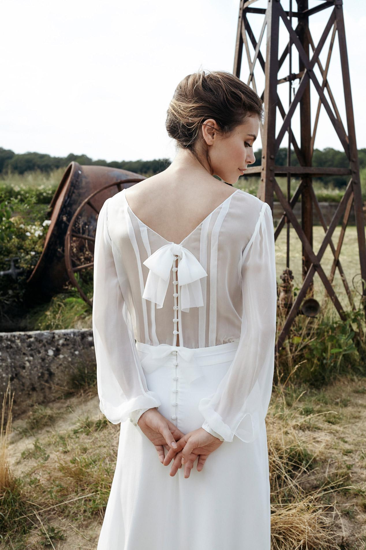 Robe de mariee creatrice paris sur mesure Mathilde Marie l La Fiancee du Panda blog mariage et lifestyle--48