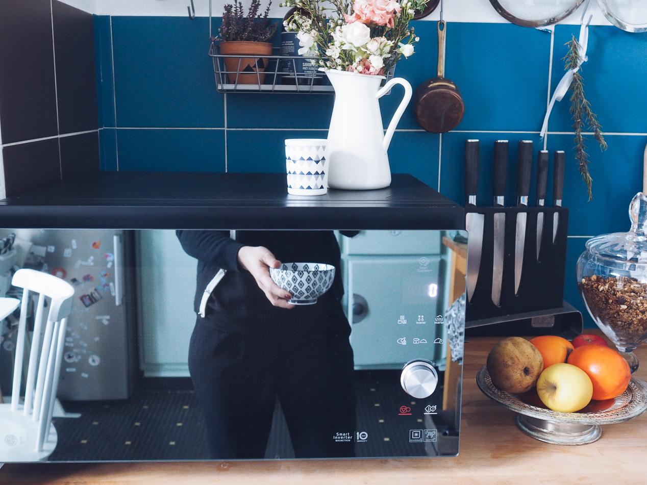 Cuisiner sainement quand on n'a pas le temps micro-ondes LG avis l La Fiancee du Panda blog mariage et lifestyle-155860