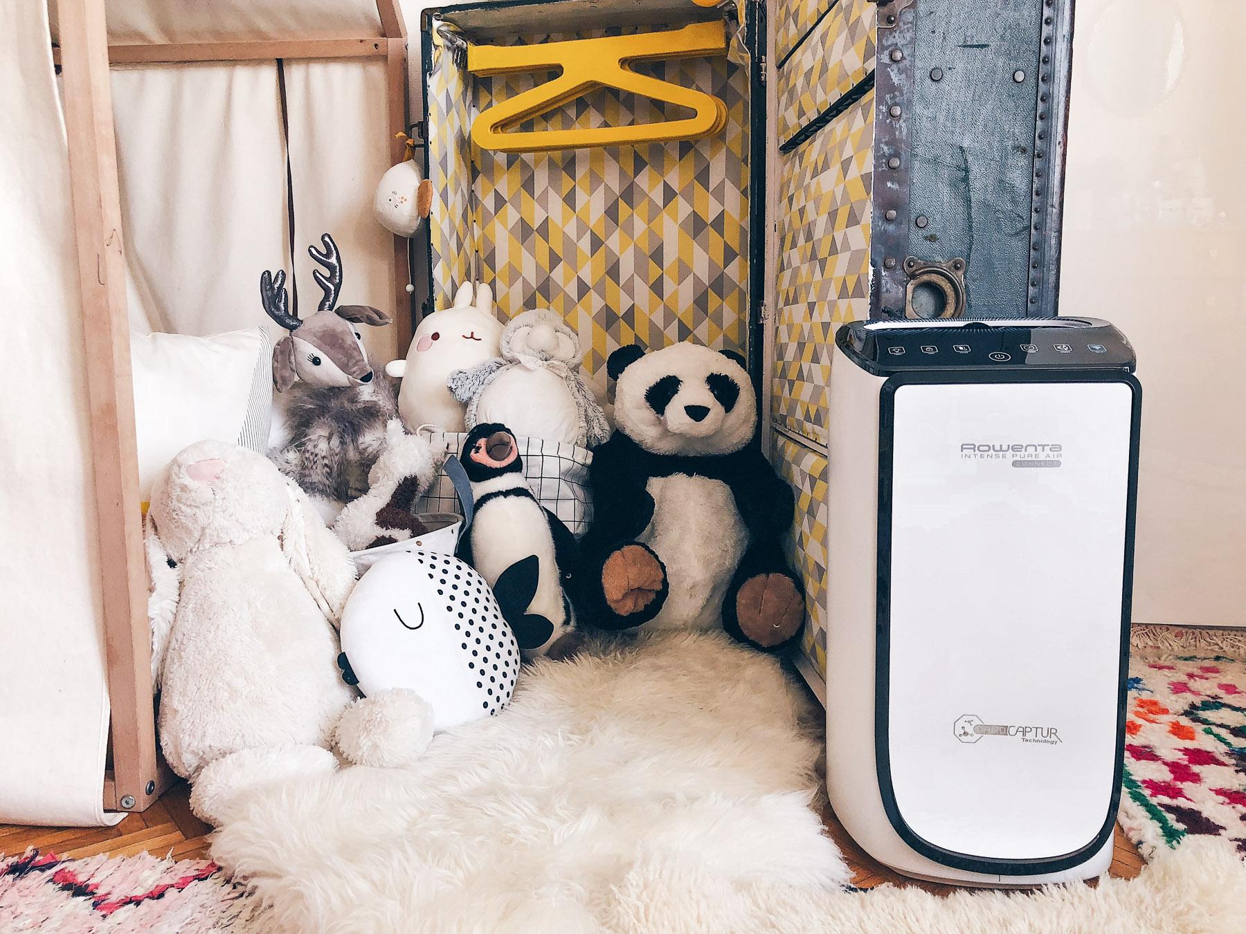 Purificateur d'air Pure air connect Rowenta anti allergies l La Fiancee du Panda blog mariage et lifestyle-2-8