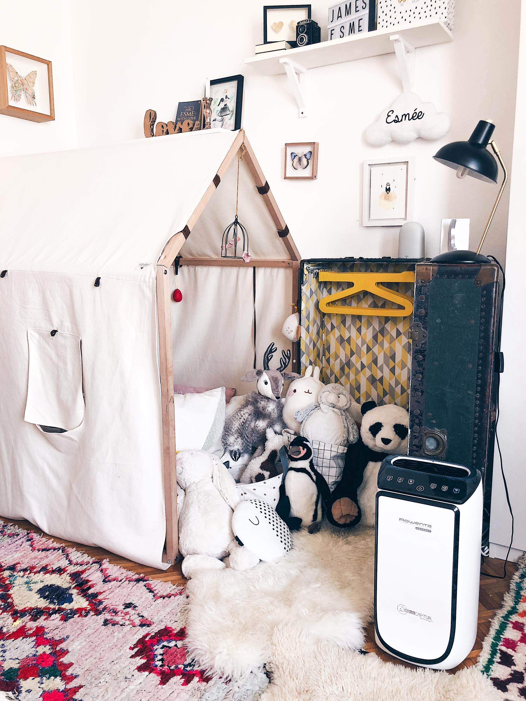 Purificateur d'air Pure air connect Rowenta anti allergies l La Fiancee du Panda blog mariage et lifestyle-2-9