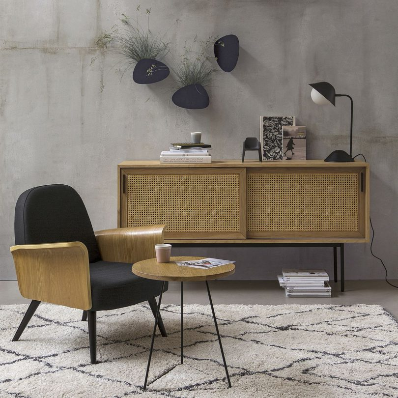 Buffet cannage La Redoute interieurs inspiration deco meuble l La Fiancee du Panda blog mariage et decoration