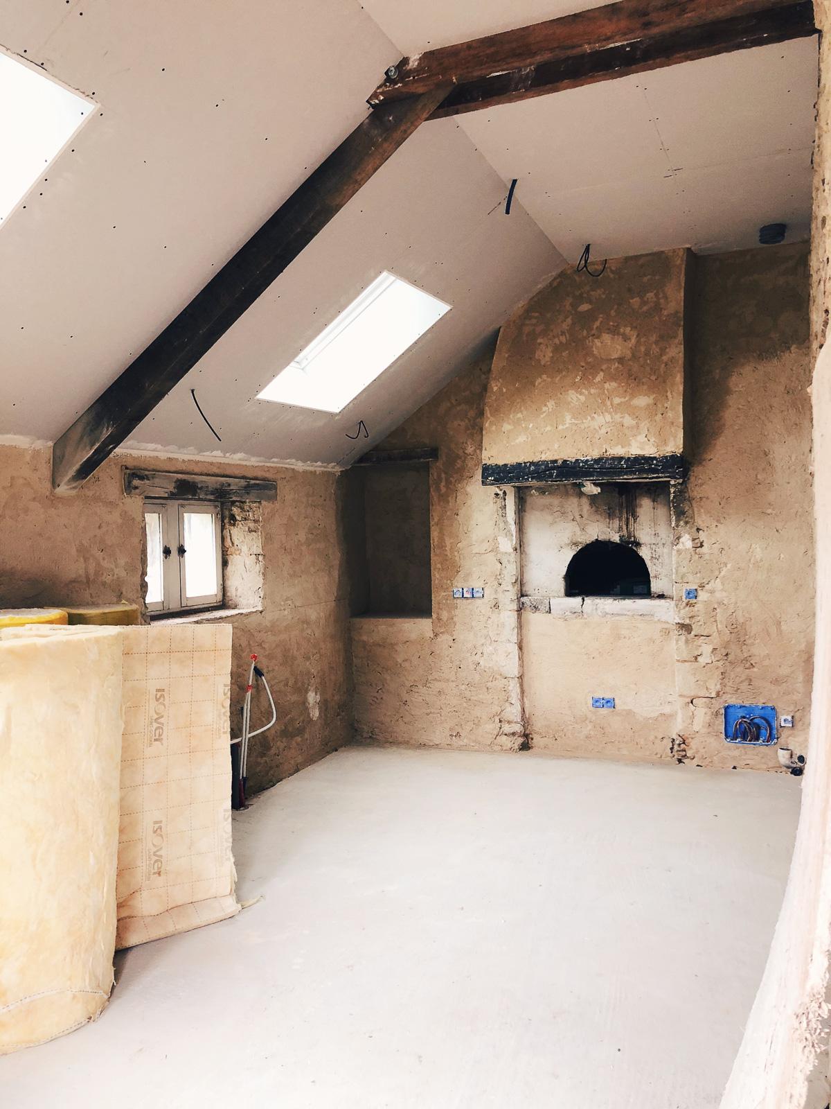 Renovation maison de campagne dans le Perche - cuisine style anglais l La Fiancee du Panda blog deco et mariage-