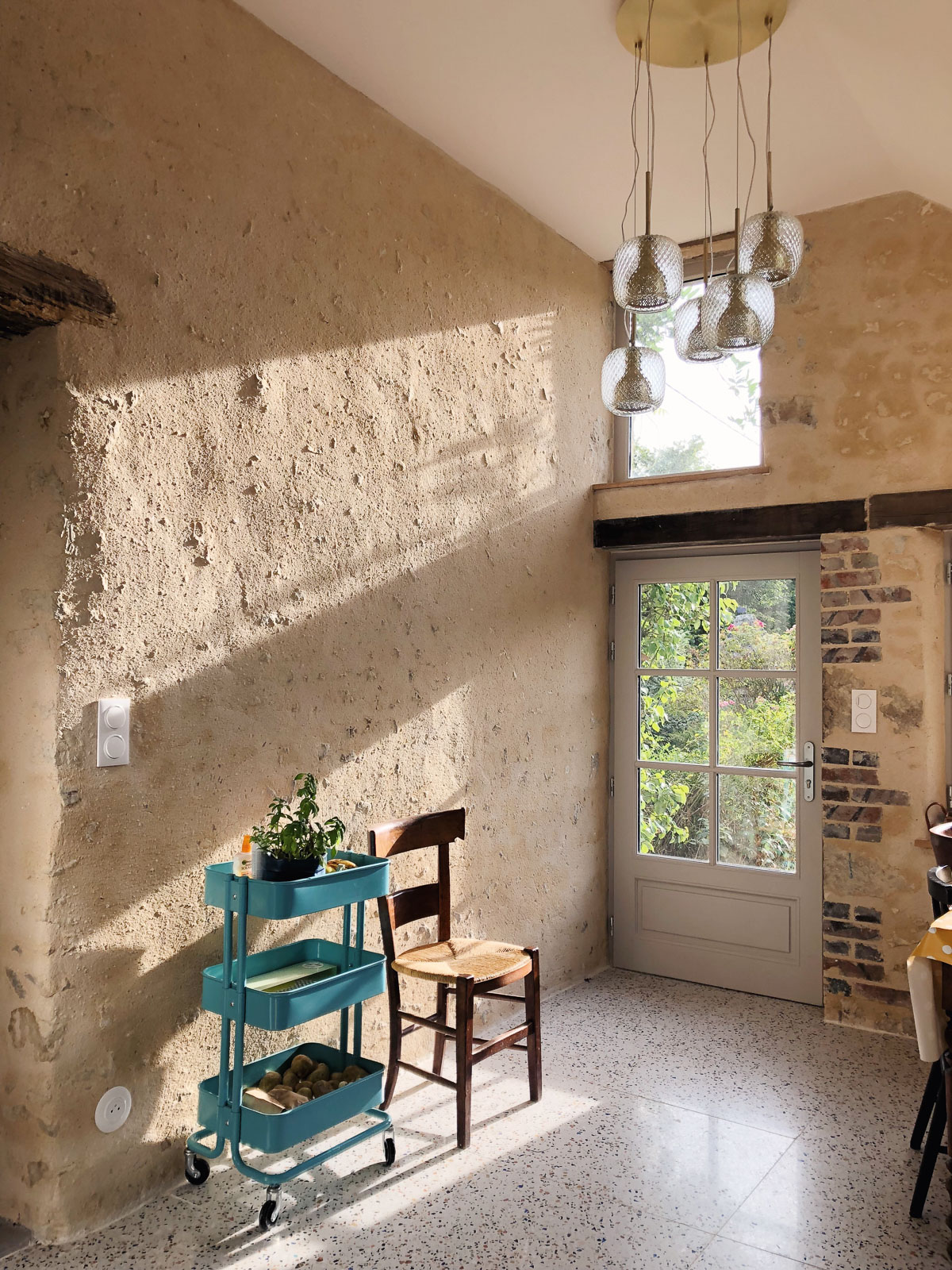 Renovation maison de campagne dans le Perche - cuisine style anglais l La Fiancee du Panda blog deco et mariage-05492121