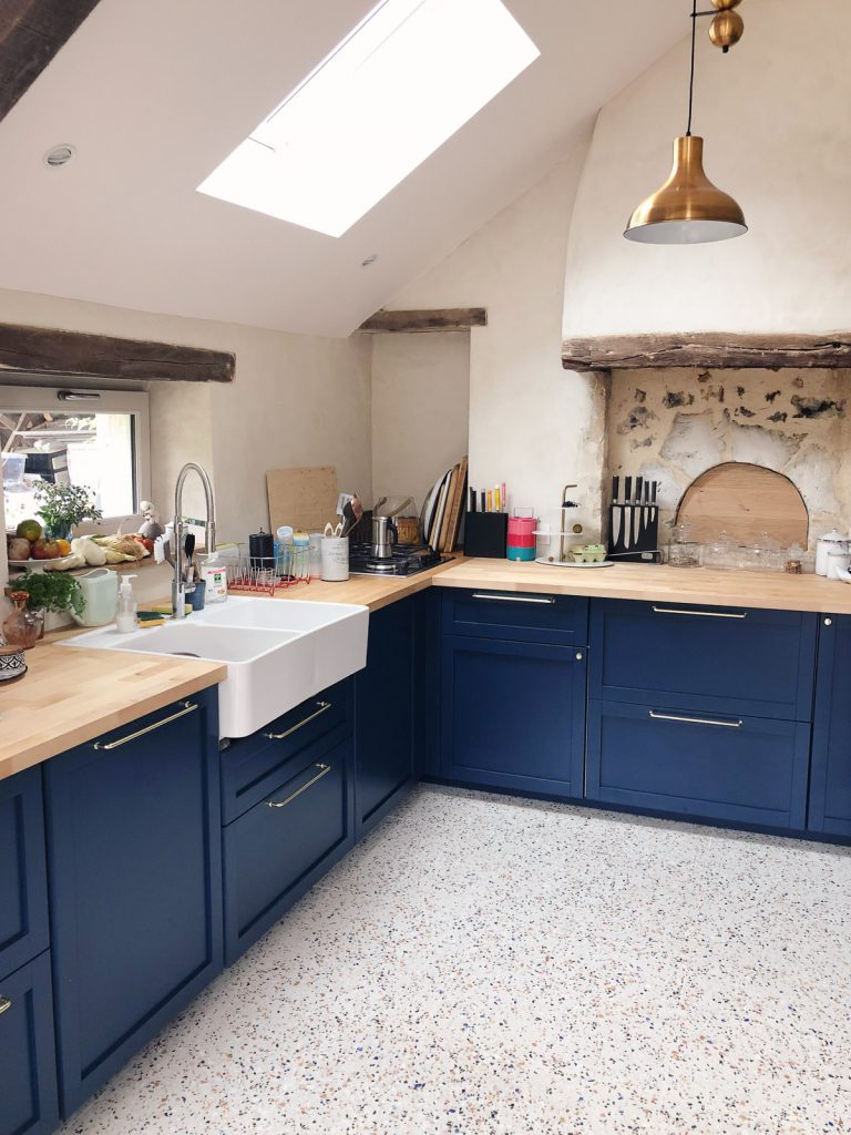 Renovation maison de campagne dans le Perche - cuisine style anglais l La Fiancee du Panda blog deco et mariage-4229